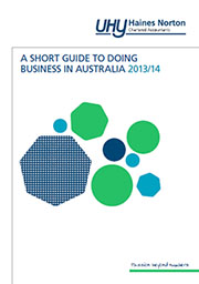 Doing Business in Australia Guide 2013/14